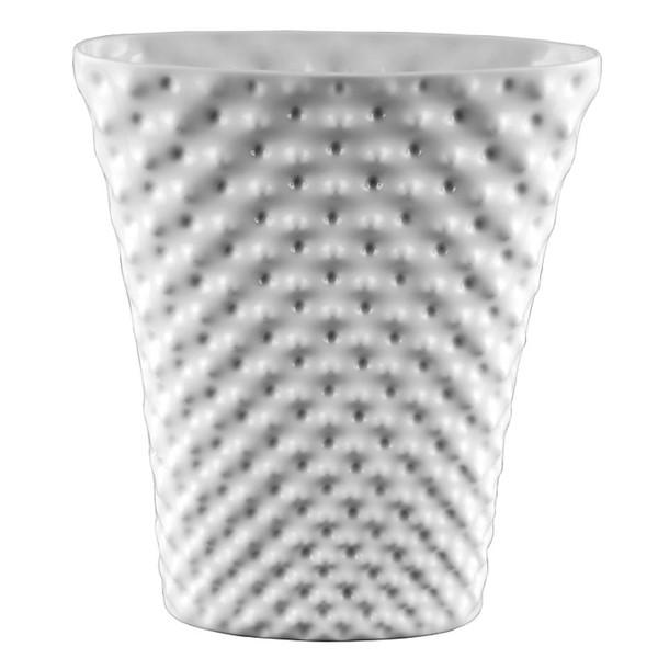 Vase, 12 1/2 inch | Vibrations - White (800001)