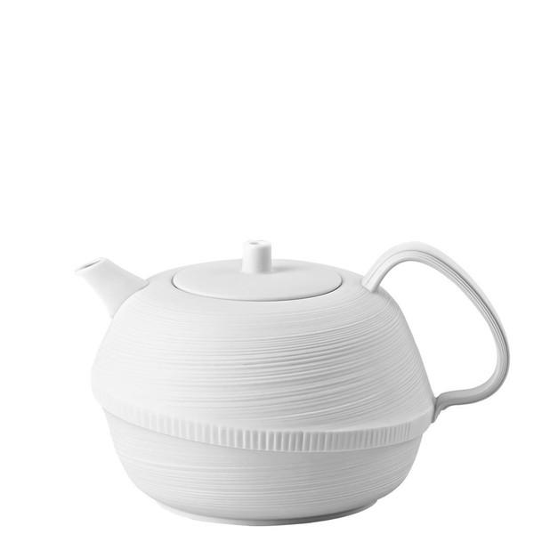 Tea Pot, 37 ounce   Rosenthal Papyrus White