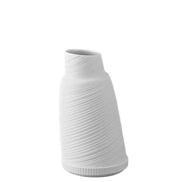 Vase/Decanter, 8 3/4 inch | Papyrus White