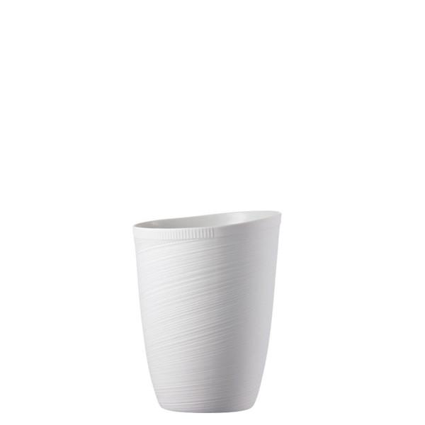 Vase, 9 inch | Papyrus White
