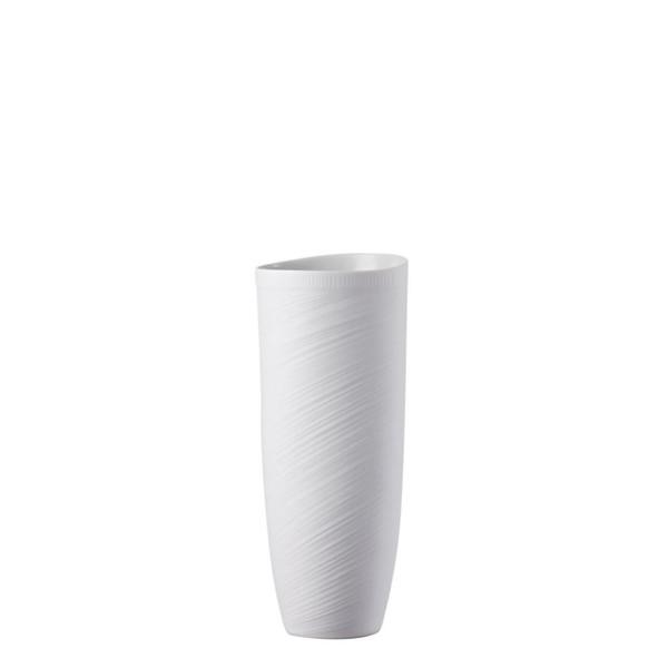 Vase, 10 1/2 inch | Papyrus White