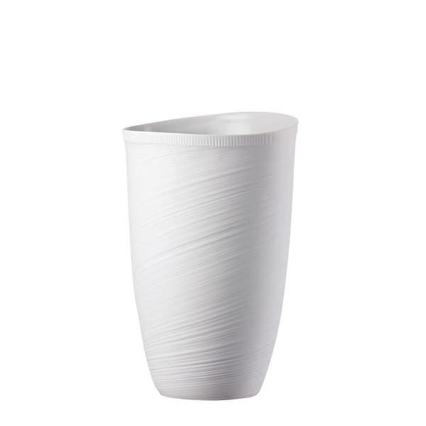 Vase, 12 1/2 inch | Papyrus White