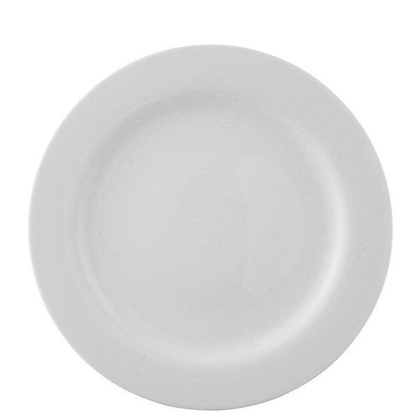 Service Plate, 12 1/4 inch | Moon White