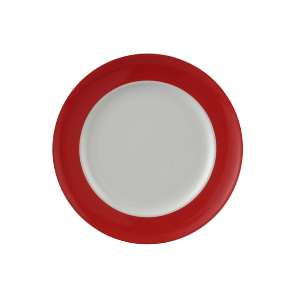 Salad Plate, 8 1/2 inch | Sunny Day Red