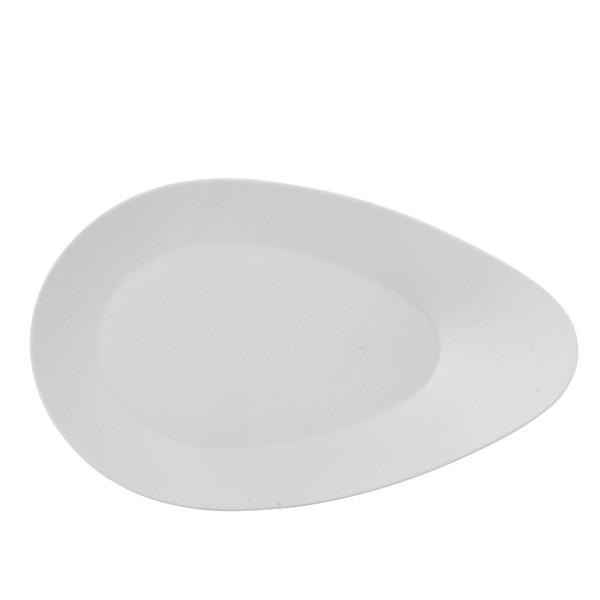 Gourmet Plate, 15 3/4 inch | Free Spirit White