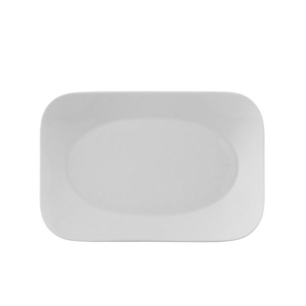 Platter, 10 1/2 inch | Free Spirit White