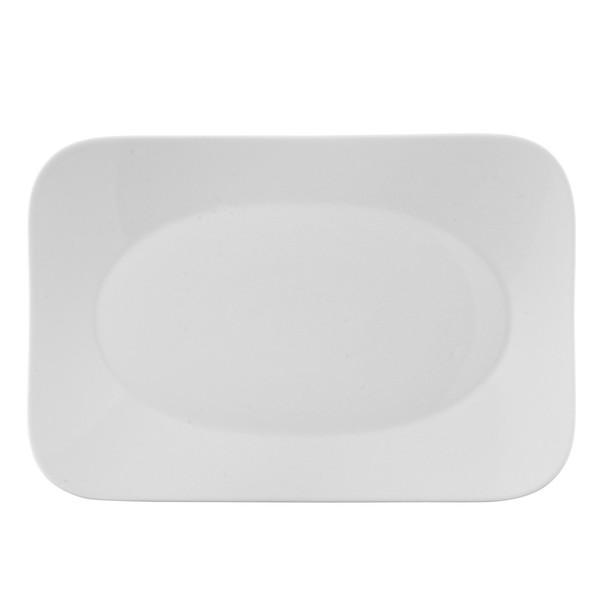 Platter, 12 1/2 inch | Free Spirit White