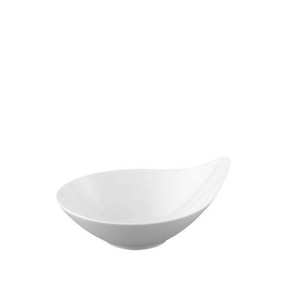 Vegetable Bowl, Individual, 7 1/2 inch, 15 ounce | Free Spirit White