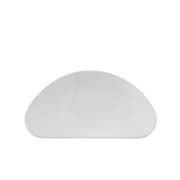 Side Plate, 10 1/2 inch | Free Spirit White