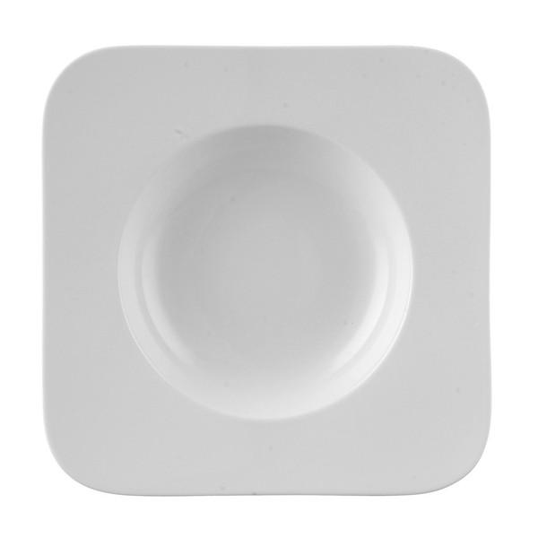Pasta Plate, 11 1/2 inch | Free Spirit White