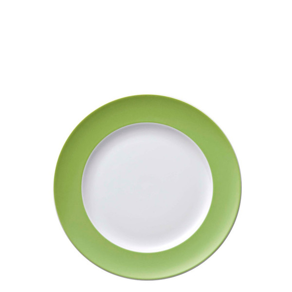Salad Plate, 8 1/2 inch | Sunny Day Apple Green