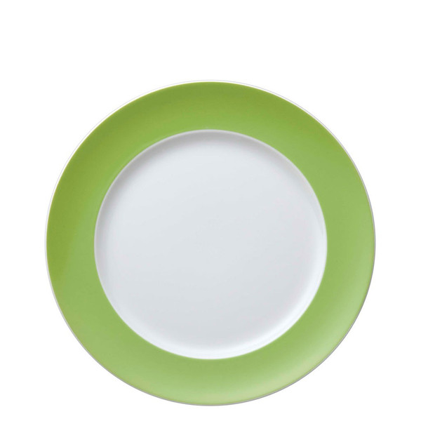 Dinner Plate, 10 1/2 inch | Sunny Day Apple Green