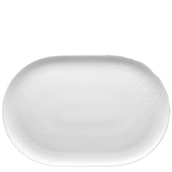 Platter, 16 1/2 inch | Landscape White