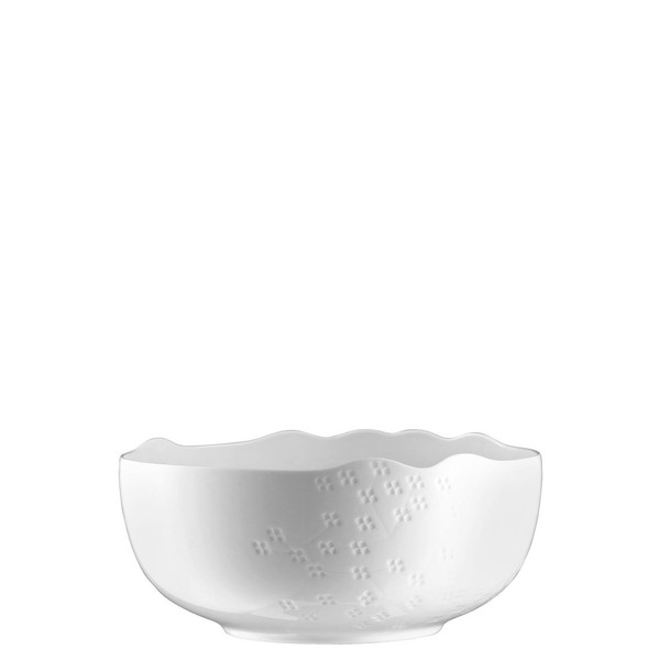 Vegetable Bowl, Open, 8 1/2 inch | Landscape White