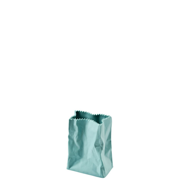 Paper Bag Vase, 4 inch   Bag Vase - Green (321333)