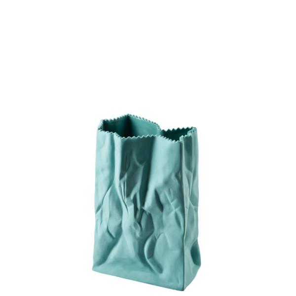 Paper Bag Vase, 7 inch   Bag Vase - Green (321333)