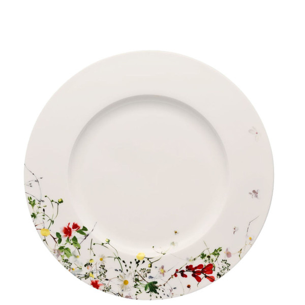 Dinner Plate, rim, 11 inch | Brillance Fleurs Sauvages