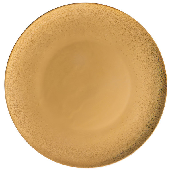 Service Plate, 13 inch | TAC Palazzo Gold