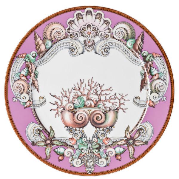 Purple Service Plate, 13 inch | Versace Etoiles de la Mer