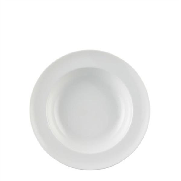 Rim Soup Bowl, round, 9 inch | Vario White