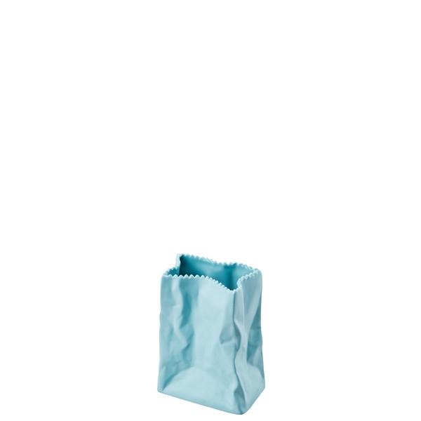 Vase, Azur, 4 inch   Paper Bag Vase