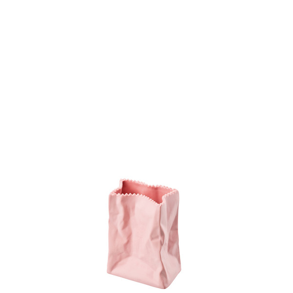 Vase, Rose, 4 inch   Paper Bag Vase