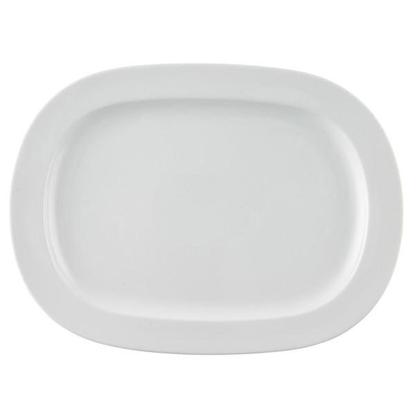 Platter, 16 1/2 inch | Thomas Vario White