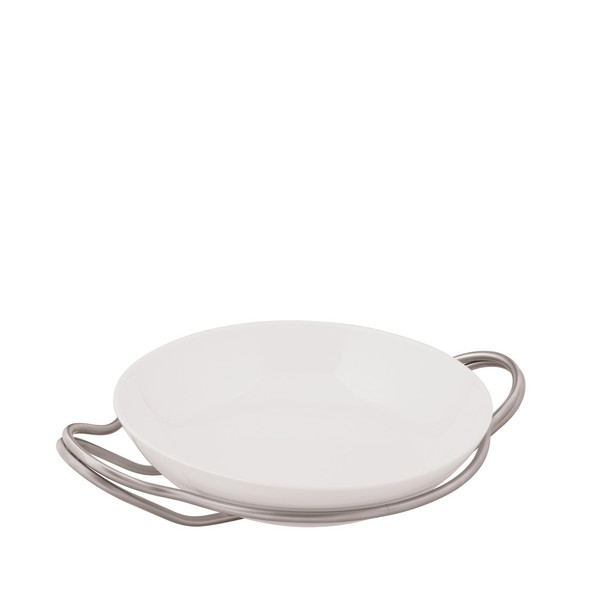 write a review for Rice Dish in Holder, Antico finish, 14 1/4 inch | Sambonet New Living Antico