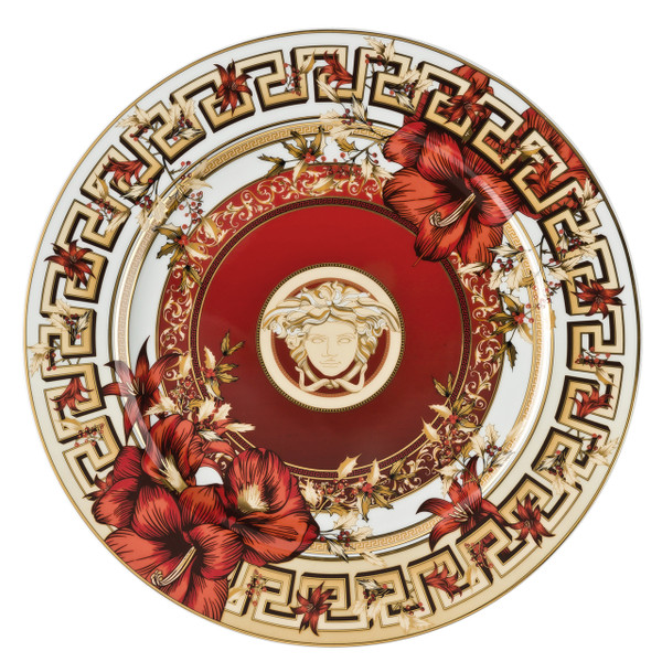 Christmas Plate, 11 3/4 inch | Christmas Blooms