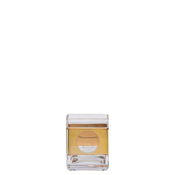 Whisky tumbler, square | Versace Medusa Madness Oro