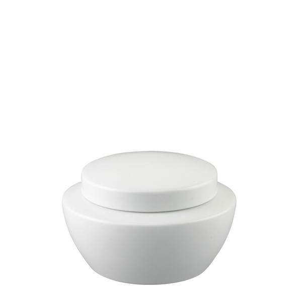 Sugar Bowl, Covered, 10 ounce | Thomas Vario White