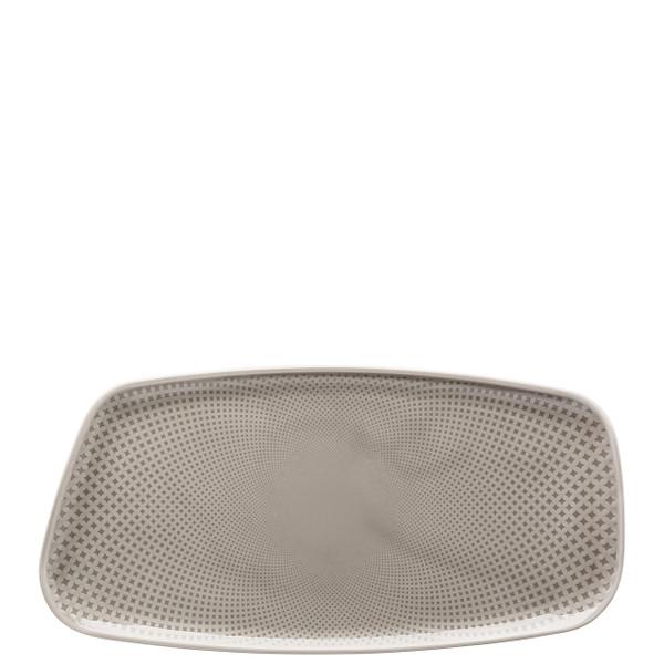 Platter, Rectangular, Pearl Grey, 11 3/4 x 6 inch | Junto