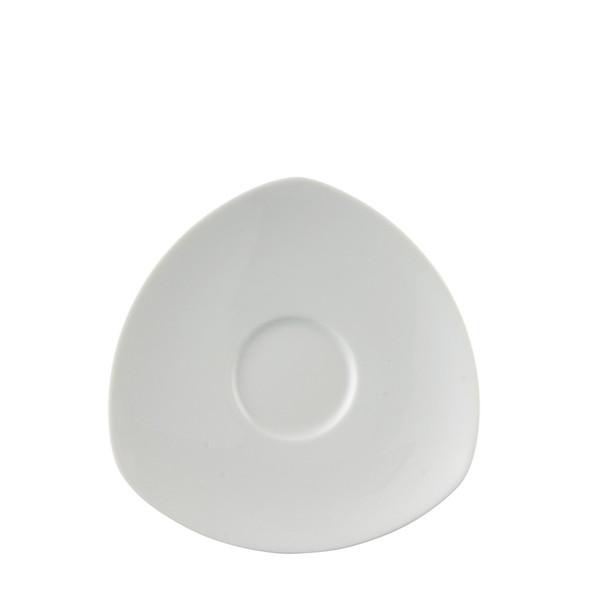 Coffee Saucer, 6 1/2 inch | Thomas Vario White