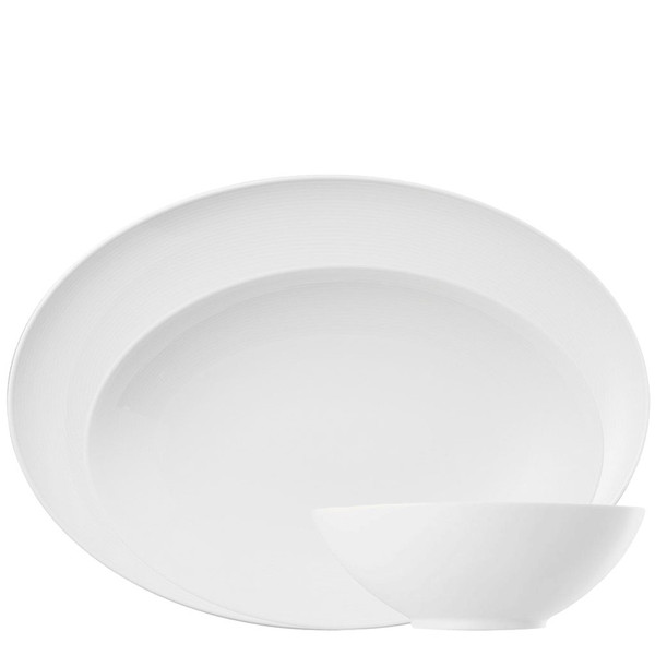 Serving Set, 3 pcs. | Loft White