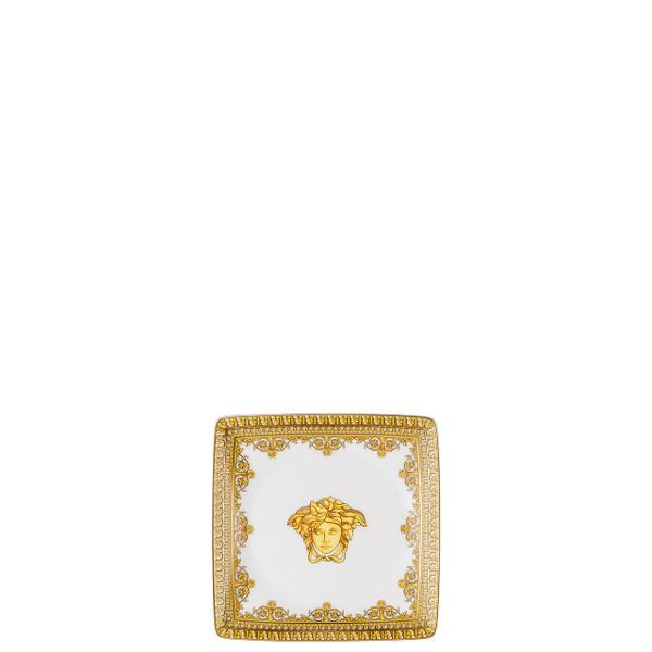 Canape Dish, Square, 4 3/4 inch | I Love Baroque Bianco