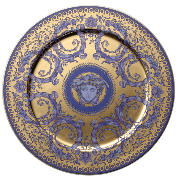 Service Plate, Gold, 13 inch | Versace Le Grand Divertissement Gold
