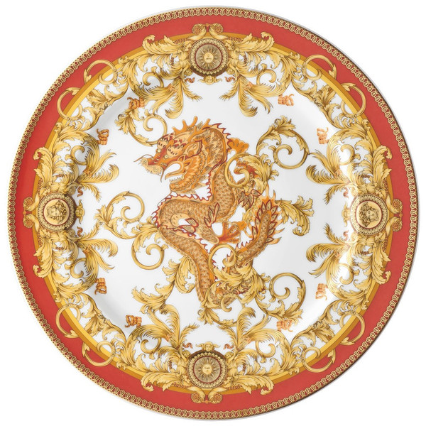 Service Plate, 13 inch | Versace Asian Dream