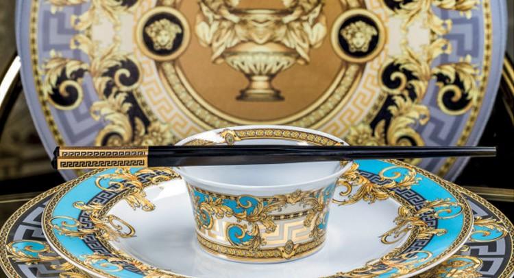 Versace Gala Le Bleu Dinnerware