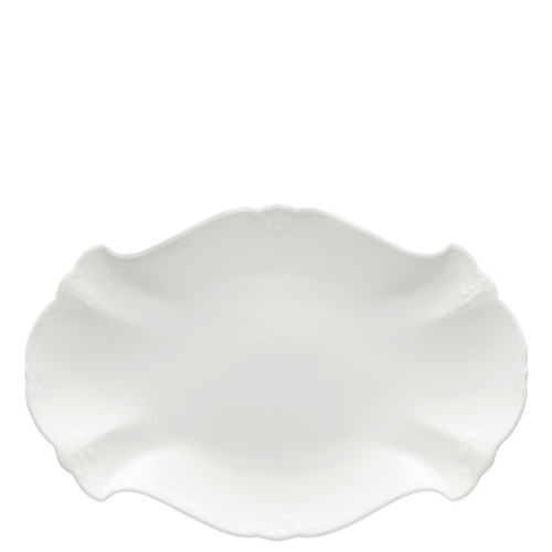 Platter, 13 inch | Baronesse White
