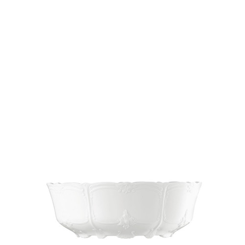 Vegetable Bowl, Open, 10 inch | Baronesse White