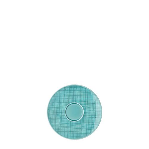 Combi Saucer, 6 1/4 inch | Mesh Aqua