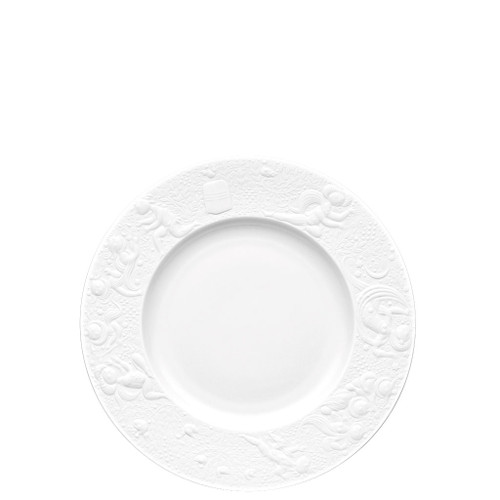 Salad Plate, 7 1/2 inch | Magic Flute White