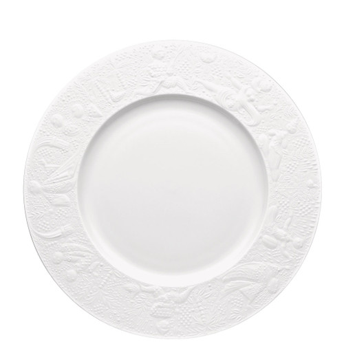 Dinner Plate, 11 inch | Magic Flute White