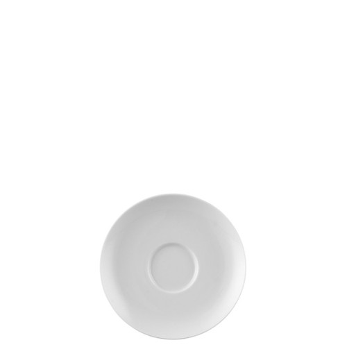 Saucer, High/Coffee, 5 2/3 inch | Moon White