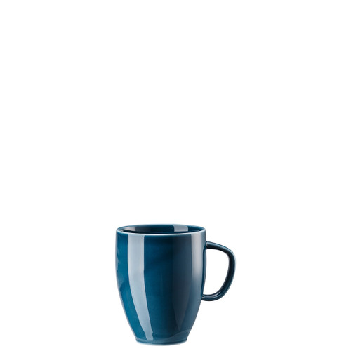 Mug with Handle, Ocean Blue, 12 3/4 ounce | Junto
