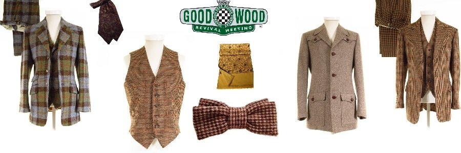 Vintage Goodwood Revival Clothing