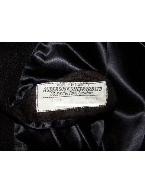 Savile Row Overcoat