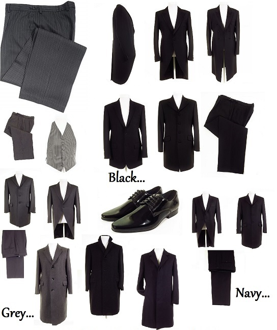 Funeral Directors clothing