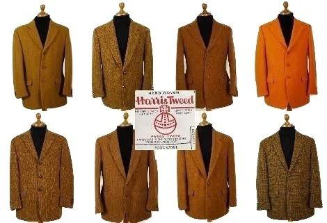 Mens Harris Tweed Sport Coats - Tweedmans Vintage