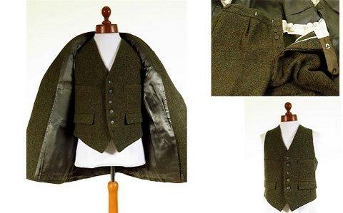 Harris Tweed 3 Piece Suit